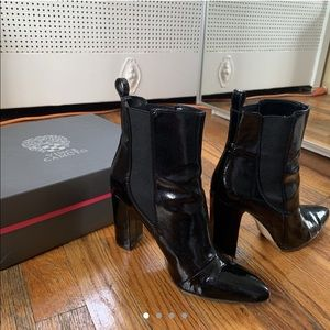 Patent Leather Vince Camuto Booties